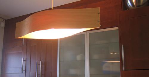 Modern wood veneer pendant lamp design milk modern wood veneer pendant lamp mozeypictures Images