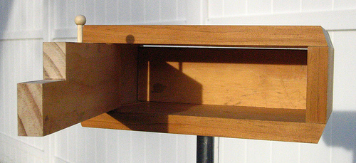 Modern Rectangle Bird Box