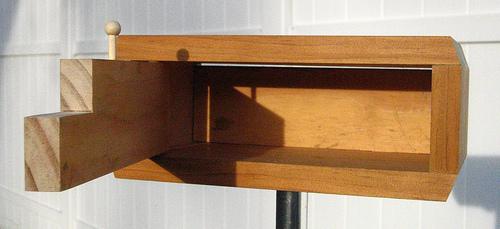 Modern Rectangle Bird Box