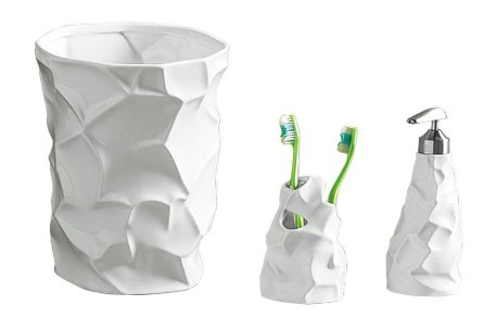 Crumple Bath Set