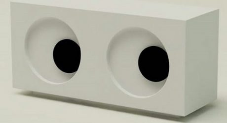 Googly Eyes Clock