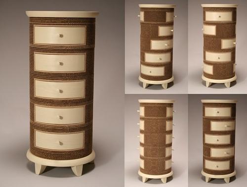 amazing furniture designs. Jason Schneider Makes Amazing, Curious, Innovative, Practical Furniture Designs From Corrugated Cardboard. Amazing