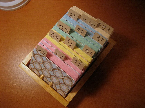 Card File - rfrantzdesign.etsy