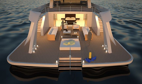 85M Motor Yacht in architecture  Category