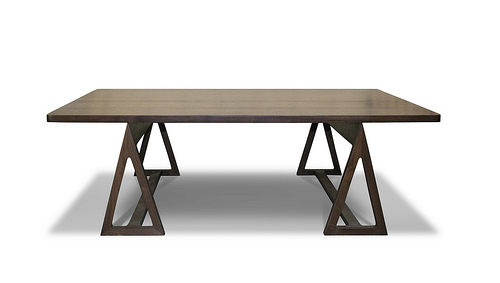 Sawhorse Cocktail Table