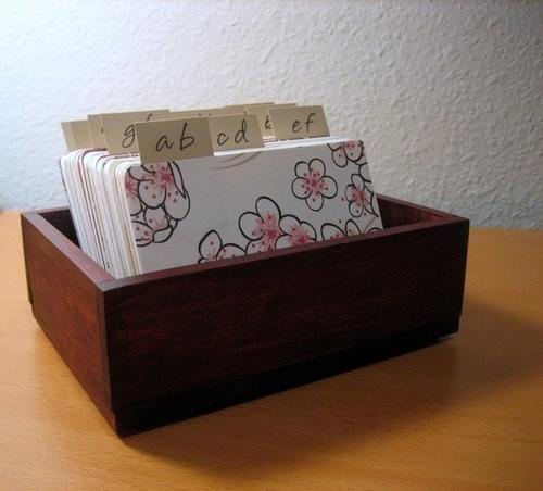 Card File - rfrantzdesign.etsy