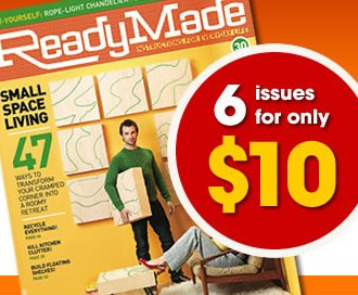 Special Deal from ReadyMade for Design Milkers in news events  Category
