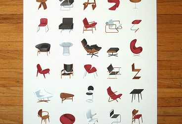 Mid-Century Modern Furniture Poster