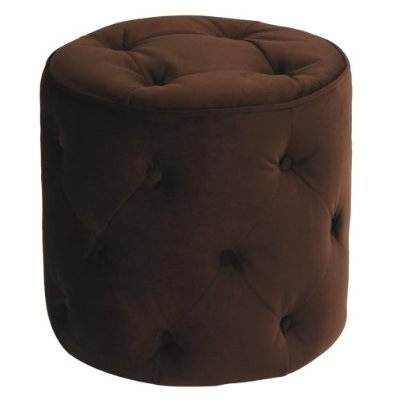 Curves Tufted Ottoman in home furnishings  Category