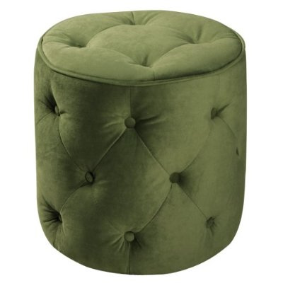 Curves Tufted Ottoman in main home furnishings  Category