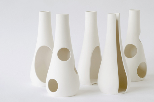 Anika Engelbrecht's swell vases