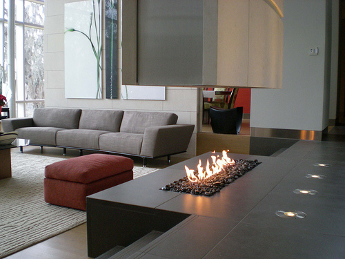 Spark Fires in main interior design  Category