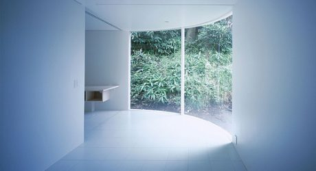 Corner-less Home in Japan by Jun Yashiki & Associates