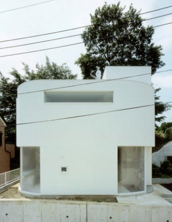 Corner less Home in Japan by Jun Yashiki & Associates in main architecture  Category