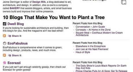 10 Blogs that Make You Want to Plant A Tree