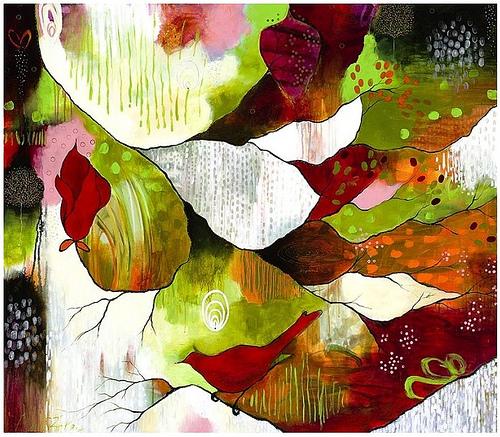Artist Flora S. Bowley