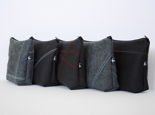 Zipper pouch from pravina studio