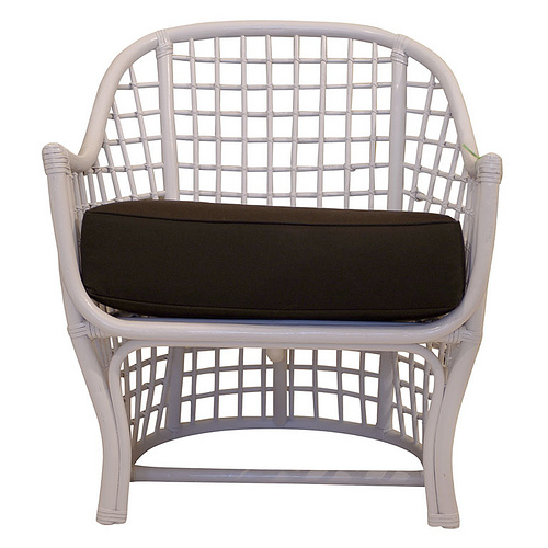 White Rattan Chair in home furnishings  Category