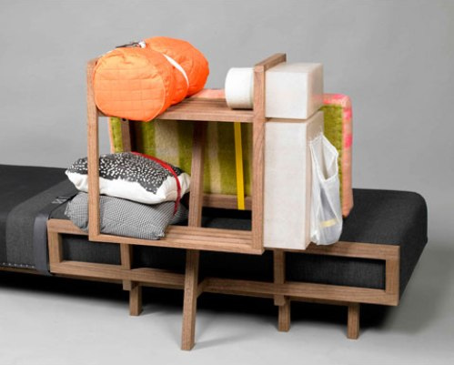 Backpack Sofa & Stool
