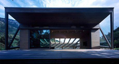 Base Valley House in Japan by Hiroshi Sambuichi