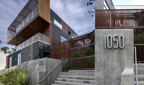 1050 Gardner in California by Lorcan O'Herlihy Architects