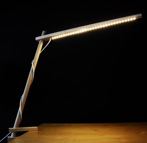 Clamp Lamp by DZstudio