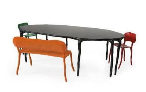 Clay Furniture by Maarten Baas