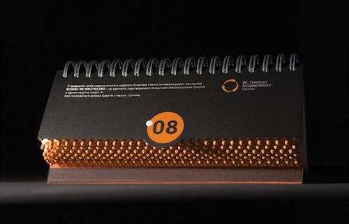 Energy Calendar by Yurko Gutsulyak