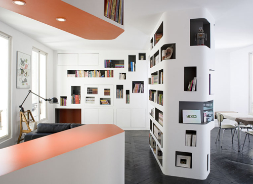 "The ""Front and Back"" Apartment in France by h2o Architects"