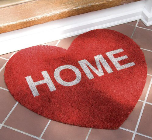 Heart Home Rug in home furnishings  Category