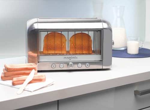 See Through Vision Toaster from Magimix in technology main home furnishings  Category