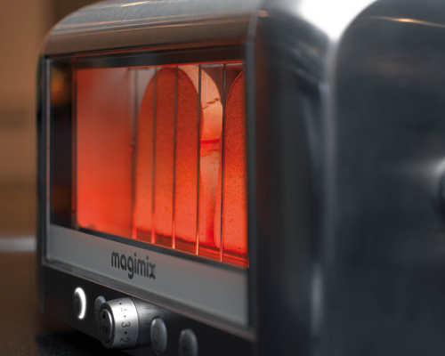 See Through Vision Toaster From Magimix Design Milk