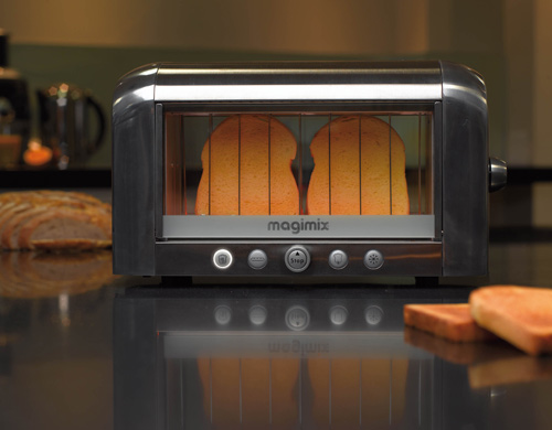 see through vision toaster from magimix design milk. Black Bedroom Furniture Sets. Home Design Ideas