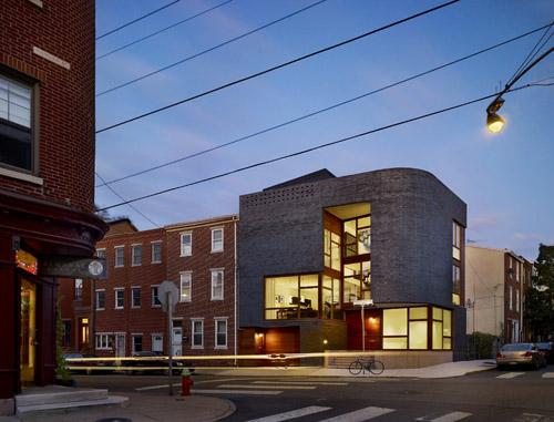 Split Level House in Pennsylvania by Qb