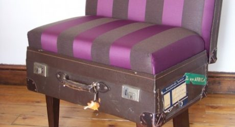 Suitcase Chairs by Katie Thompson