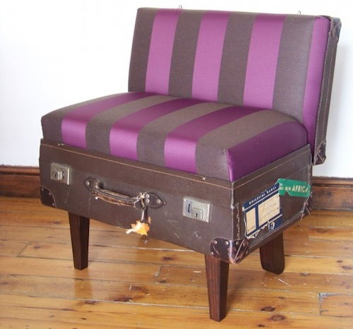 Suitcase Chairs by Katie Thompson in home furnishings  Category