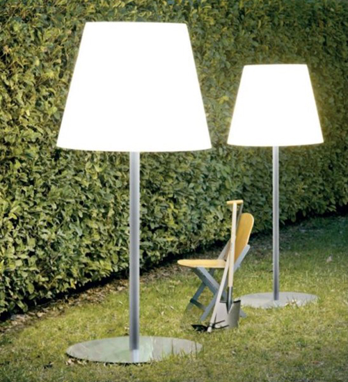 The Outdoor Floor Lamp in main interior design  Category