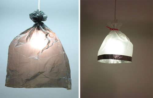 Plastic Bag Lights by Burojet in main home furnishings  Category