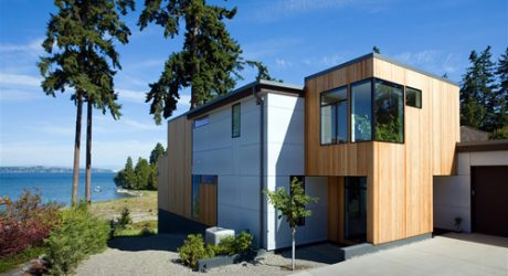 Bainbridge Island Home in Washington by BUILD LLC