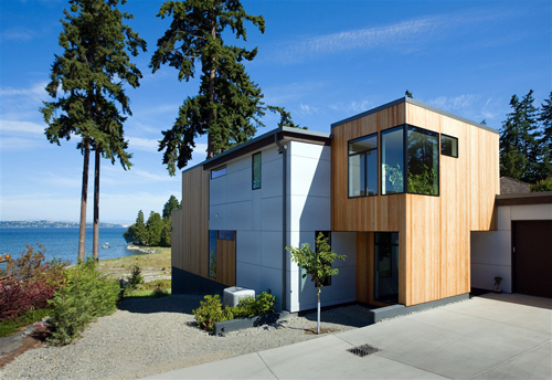 Bainbridge Island Home in Washington by BUILD LLC