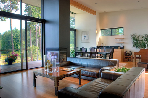 Bainbridge Island Home in Washington by BUILD LLC in main architecture  Category