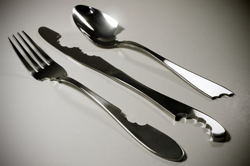 Bite Silverware by Mark A. Reigelman II in home furnishings  Category