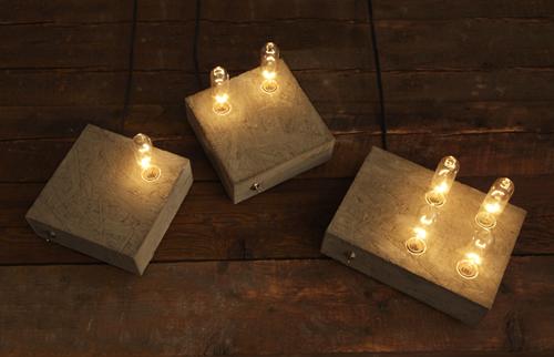 Domino Lamps by Grenkol