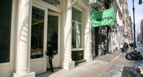 Keetsa Showroom in NYC