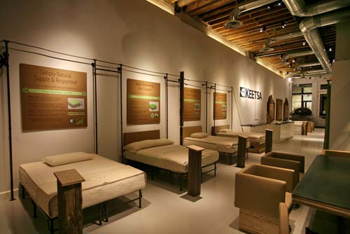 Keetsa Showroom in NYC in main interior design home furnishings  Category