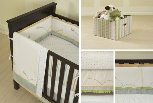 Kenneth Brown Crib Bedding Giveaway Reminder