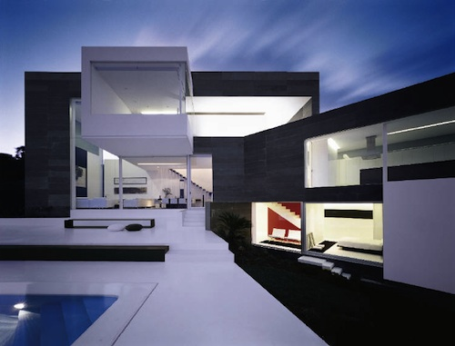 House in Coruña in Spain by A cero Architects in main architecture  Category