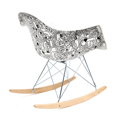 Mike Perry Eames Chairs