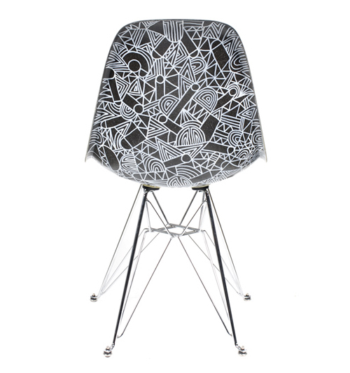 Mike Perry Eames Chairs in main home furnishings art  Category