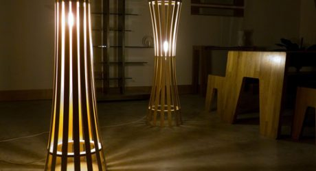 Pinch and Splay Lamps